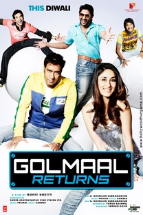 Golmaal Returns - Poster / Capa / Cartaz - Oficial 1