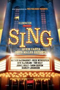 Sing - Quem Canta Seus Males Espanta - Poster / Capa / Cartaz - Oficial 2
