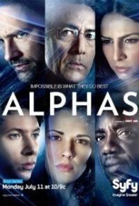 Alphas (1ª Temporada) - Poster / Capa / Cartaz - Oficial 1