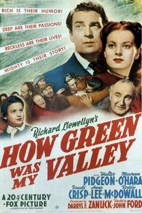 Como Era Verde Meu Vale - Poster / Capa / Cartaz - Oficial 3