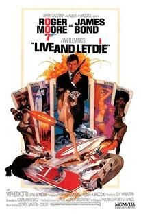 Com 007 Viva e Deixe Morrer - Poster / Capa / Cartaz - Oficial 1