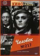 Moça Nº 217 (Chelovek No. 217)