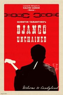 Django Livre - Poster / Capa / Cartaz - Oficial 11