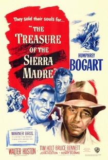 O Tesouro de Sierra Madre - Poster / Capa / Cartaz - Oficial 1