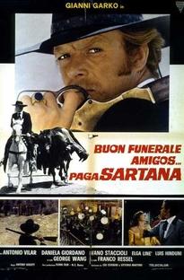 Bom Funeral, Amigos!... Paga Sartana - Poster / Capa / Cartaz - Oficial 4