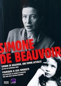 Simone de Beauvoir: uma mulher atual - Poster / Capa / Cartaz - Oficial 1