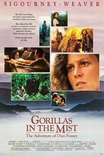 Nas Montanhas dos Gorilas - Poster / Capa / Cartaz - Oficial 6