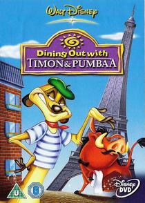 Jantando Fora Com Timão e Pumba - Poster / Capa / Cartaz - Oficial 2