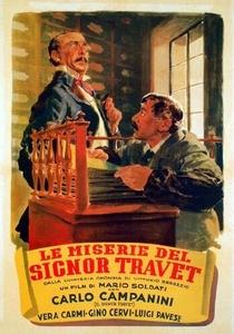 Le miserie del Signor Travet - Poster / Capa / Cartaz - Oficial 1