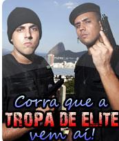 Corra que a Tropa de Elite vem Ai! - Poster / Capa / Cartaz - Oficial 1