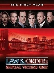 Law & Order: Special Victims Unit (1ª Temporada) - Poster / Capa / Cartaz - Oficial 1