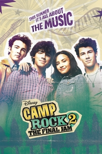 Camp Rock 2 - O Jam Final - Poster / Capa / Cartaz - Oficial 1