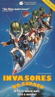 Invasores do Espaço - Poster / Capa / Cartaz - Oficial 2