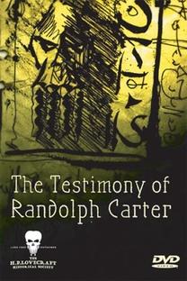 The testimony of Randolph Carter - Poster / Capa / Cartaz - Oficial 1
