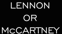 Lennon or McCartney - Poster / Capa / Cartaz - Oficial 2