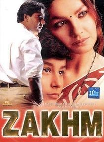 Zakhm - Poster / Capa / Cartaz - Oficial 3
