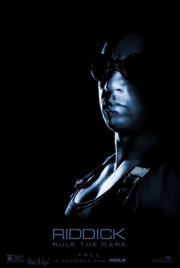 """Veja o poster para salas IMAX de """"Riddick"""" com Vin Diesel"""