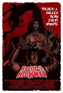Blood on the Highway - Poster / Capa / Cartaz - Oficial 1
