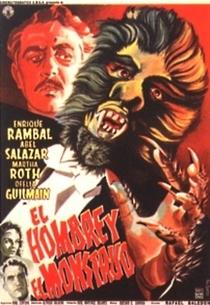O Homem e o Monstro - Poster / Capa / Cartaz - Oficial 1