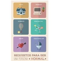 Requisitos Para Ser uma Pessoa Normal - Poster / Capa / Cartaz - Oficial 2
