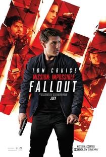 Missão: Impossível - Efeito Fallout - Poster / Capa / Cartaz - Oficial 4
