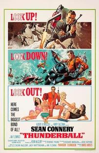 007 - Contra a Chantagem Atômica - Poster / Capa / Cartaz - Oficial 1