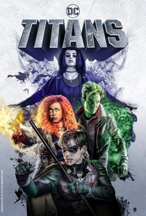 Titãs (1ª Temporada) - Poster / Capa / Cartaz - Oficial 1