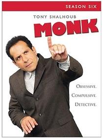 Monk: Um Detetive Diferente (6ª Temporada) - Poster / Capa / Cartaz - Oficial 1