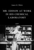 Thomas Edison trabalhando em seu laboratório de química (Mr. Edison at Work in His Chemical Laboratory)