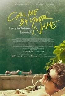 Me Chame Pelo Seu Nome - Poster / Capa / Cartaz - Oficial 1