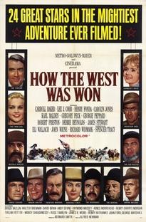 A Conquista do Oeste - Poster / Capa / Cartaz - Oficial 1