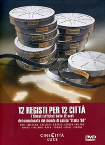 12 Registi Per 12 Città - Poster / Capa / Cartaz - Oficial 1