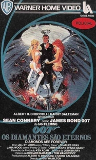 007 - Os Diamantes são Eternos - Poster / Capa / Cartaz - Oficial 4