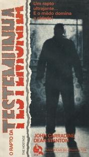 O Rapto da Testemunha - Poster / Capa / Cartaz - Oficial 2