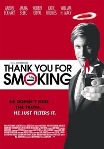 Obrigado por Fumar - Poster / Capa / Cartaz - Oficial 5