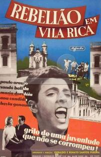Rebelião em Vila Rica - Poster / Capa / Cartaz - Oficial 1