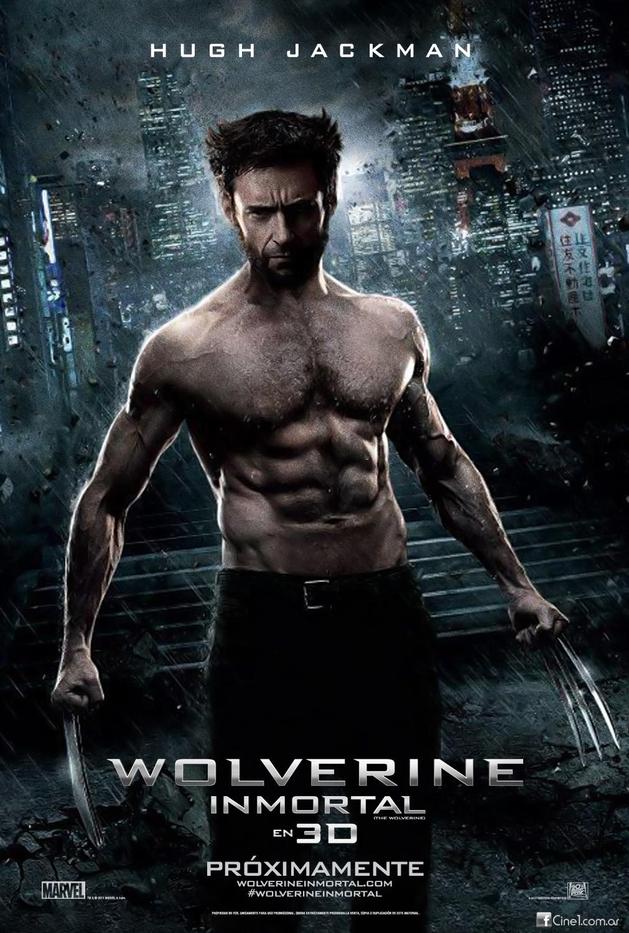 """Novo poster internacional de """"Wolverine – Imortal"""" mostrando o físico e as garras"""