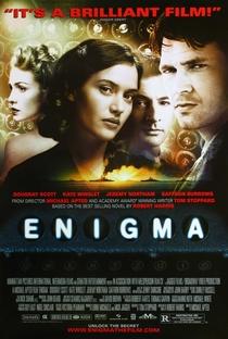 Enigma - Poster / Capa / Cartaz - Oficial 2