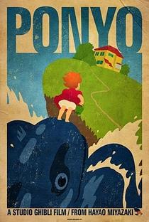 Ponyo: Uma Amizade que Veio do Mar - Poster / Capa / Cartaz - Oficial 7