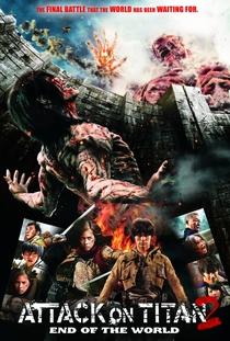 Ataque dos Titãs - Parte 2: Fim do Mundo - Poster / Capa / Cartaz - Oficial 5
