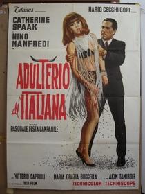 Adultério à Italiana  - Poster / Capa / Cartaz - Oficial 2
