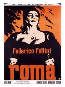 Roma de Fellini - Poster / Capa / Cartaz - Oficial 3