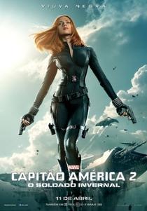 Capitão América 2: O Soldado Invernal - Poster / Capa / Cartaz - Oficial 6