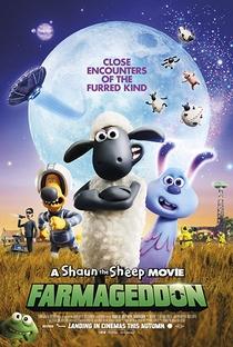 Shaun, O Carneiro - O Filme: A Fazenda Contra-Ataca - Poster / Capa / Cartaz - Oficial 1