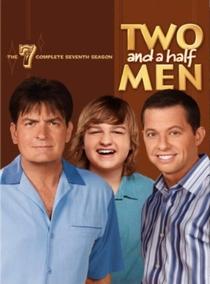 Dois Homens e Meio (7ª Temporada) - Poster / Capa / Cartaz - Oficial 1