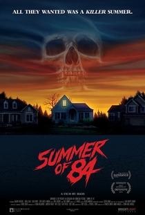 Verão de 84 - Poster / Capa / Cartaz - Oficial 5