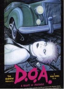 D.O.A.: A Rite of Passage  - Poster / Capa / Cartaz - Oficial 1