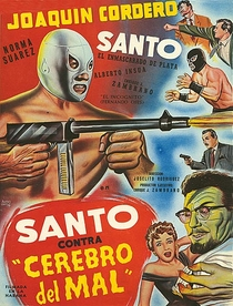Santo Contra o Cérebro do Mal - Poster / Capa / Cartaz - Oficial 1
