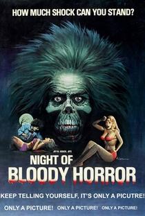 Night of Bloody Horror - Poster / Capa / Cartaz - Oficial 1