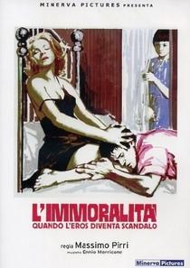 L'immoralità - Poster / Capa / Cartaz - Oficial 2